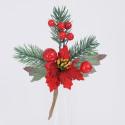 Stella Natale rossa 16