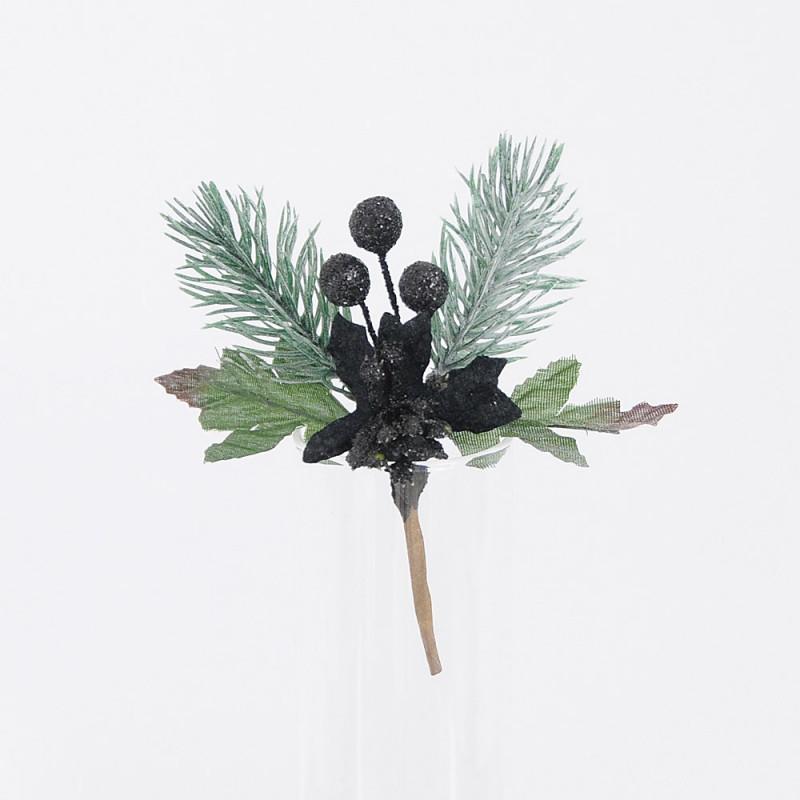 Stella Natale Nero 12