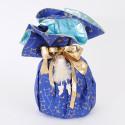 Fogli Pandoro Panettone blu turchese