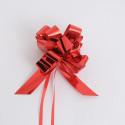 Fiocchi con tirante metallizzati red