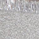 Nastri New Orleans Frangia Metal silver
