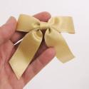 Fiocchi stoffa grandi con adesivo o elastico oro