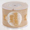 Nastri Fascia Palle di Natale oro