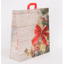 Shopper Carta Natale Merry Christmas