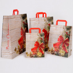 Shopper Carta Natale Merry Christmas