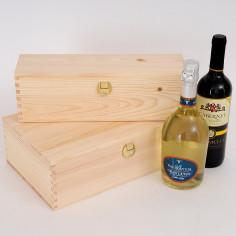 Cassette per vini 1 e 2 bottiglie Massello