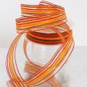 Nastri a strisce dominante arancio