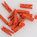 Mollette in Legno 24 pezzi 35 mm