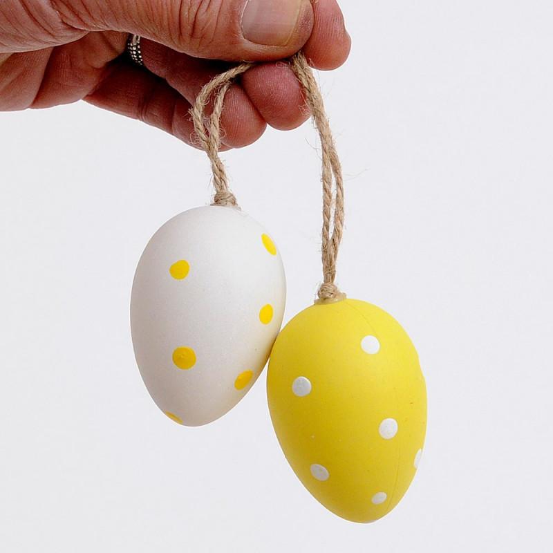 Uova di Pasquali con cordino
