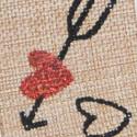 Nastro Natural freccia nel cuore