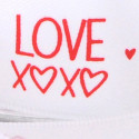 Nastri Raso Love XOXO bianco