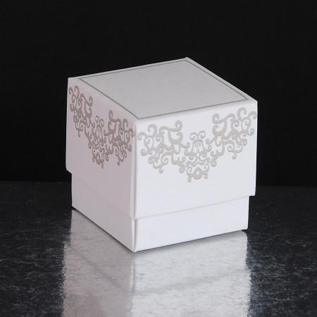 Bomboniera Fleur Chantilly Bianco