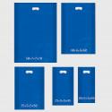 Shopper in Plastica blu