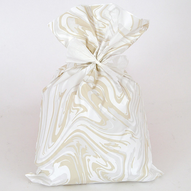Buste Perlate Melange bianco grigio