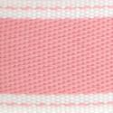 Nastri in cotone stampa cucito roso