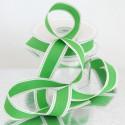 Nastri in cotone stampa cucito verde
