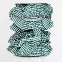 Nastri Arricciati con elastico verde