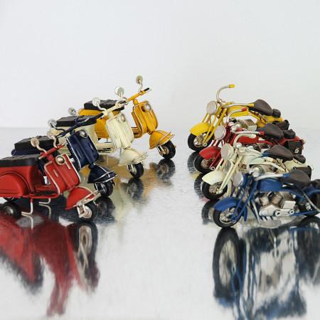 Harley e Scooter moto Vintage