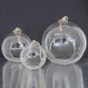 Palle di vetro con cordino