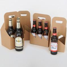 Cesti porta Bottiglie in cartoncino