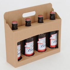 Cesti porta Bottiglie in cartoncino modello PUB