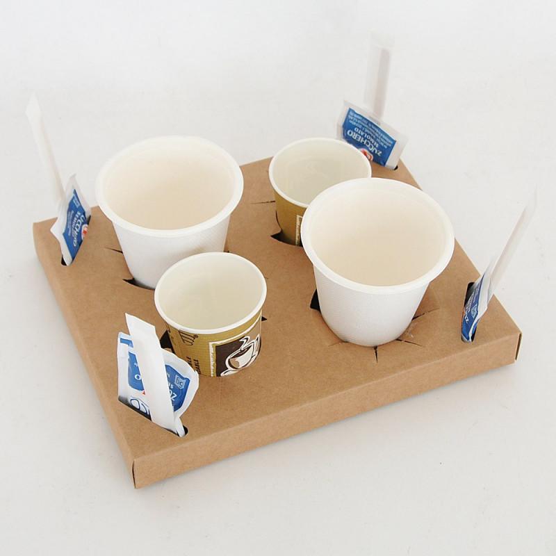 Vassoio caffè da asporto