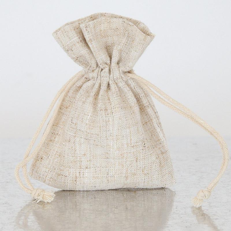 Sacchetti Bomboniere cotone naturale