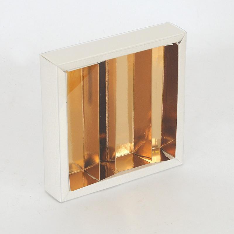 Scatola Quadretto chiusura trasparente e divisorio