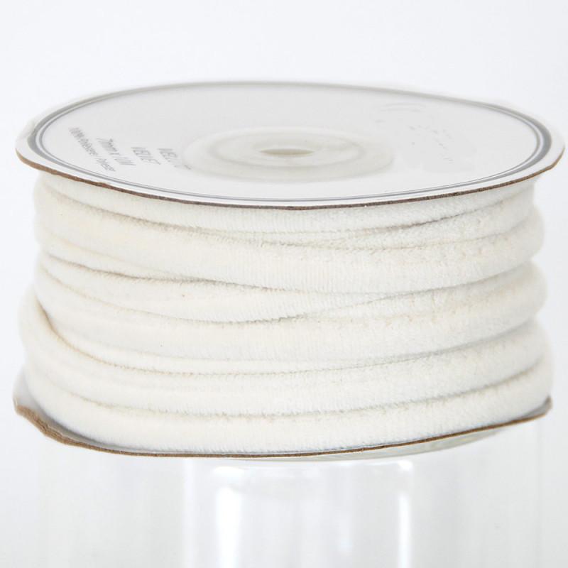 Cordini in Velluto bianco