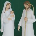 Natività Bianca in 2 statuine