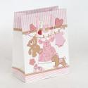 Borsa regalo Nascita Orsetti rosa