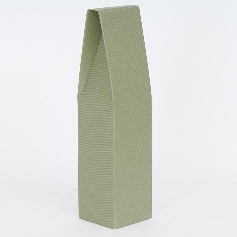 Scatole Olio Litro Riga Verde 1 bottilia chiusa