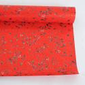 Rotoli in carta Perlati Vischio Rosso