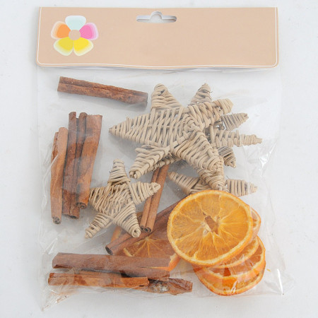 Sacchetto Cannella Stella Fette d'arancia