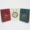 Shopper Carta Natale Elegance Berry MIX grandi