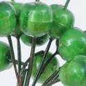 Mazzetti di mele verdi