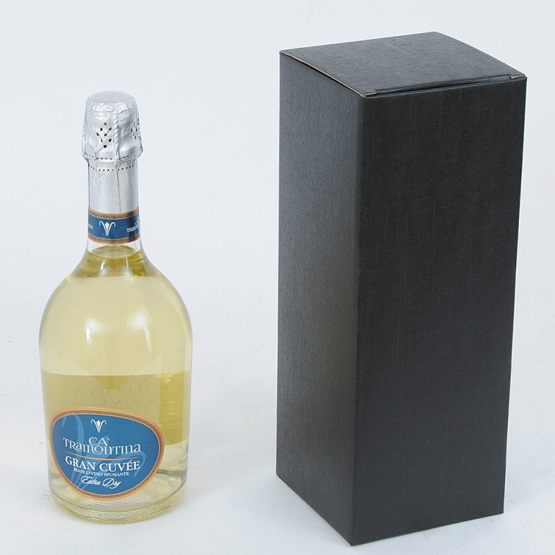 Scatole per vino Cru nero
