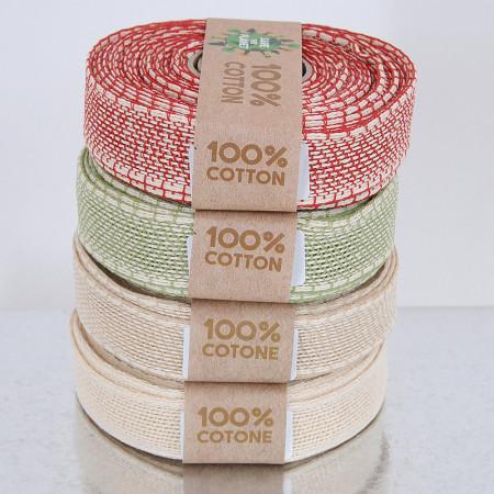 Nastri puro cotone Save the Planet