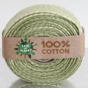 Nastri puro cotone Save the Planet oliva