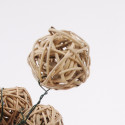 Palline di rattan Brunch Ball con gambo