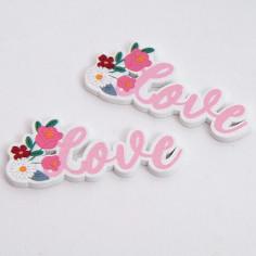 Scritta Love Legno