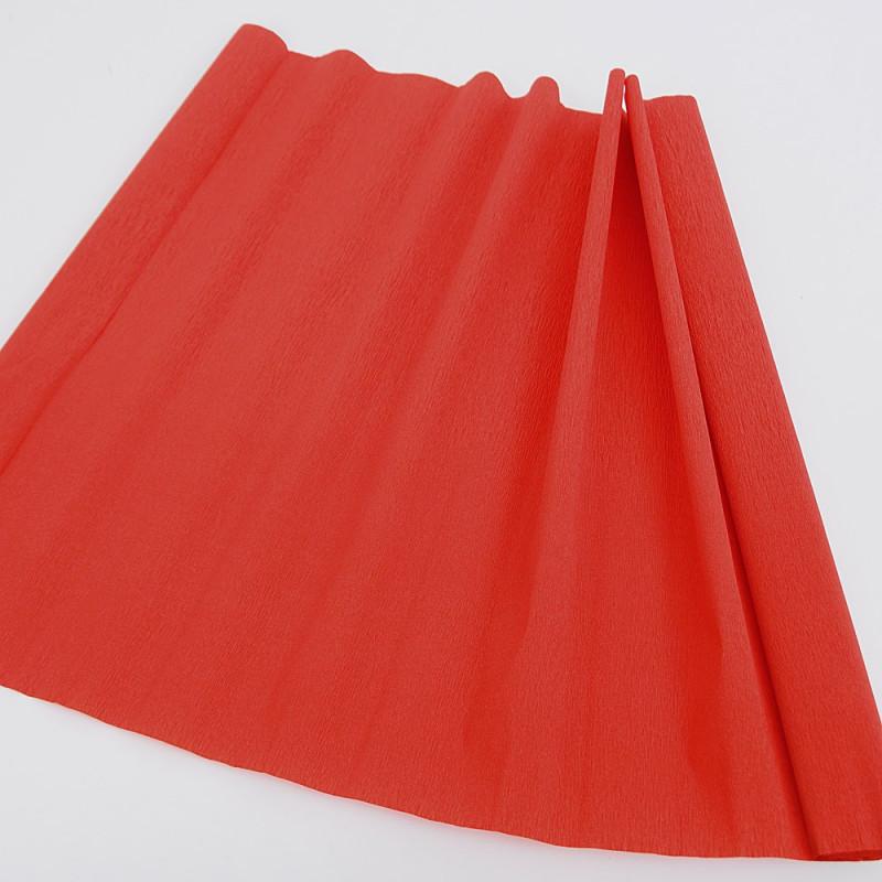 Carta Crespa 40 grammi rosso