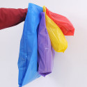 Shopper in Plastica PEMD 60my con Soffietto e Maniglia Fagiolo
