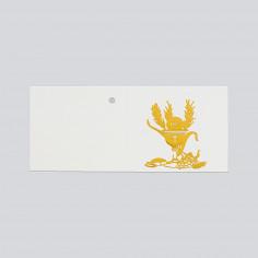 Bigliettini Comunione in foglio A4 Oro in rilievo