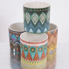 Vasi in ceramica Aztechi