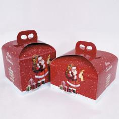 Scatole Natale Porta Panettone insieme