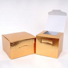 Scatole pieghevoli in cartone insieme