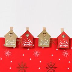 Mollette Natale in Legno INSIEME