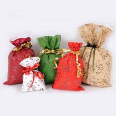 Buste da Regalo con Stampa Natale: Vischio