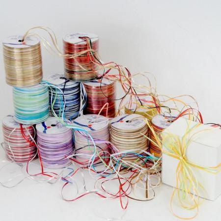 Nastri Rafia fili multicolor